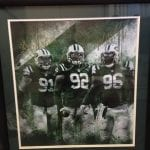 Autographed New York Jets Poster